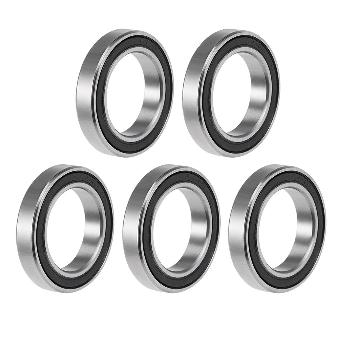 6803-2RS Ball Bearing 17x26x5mm Double Sealed ABEC-3 Bearings 5pcs
