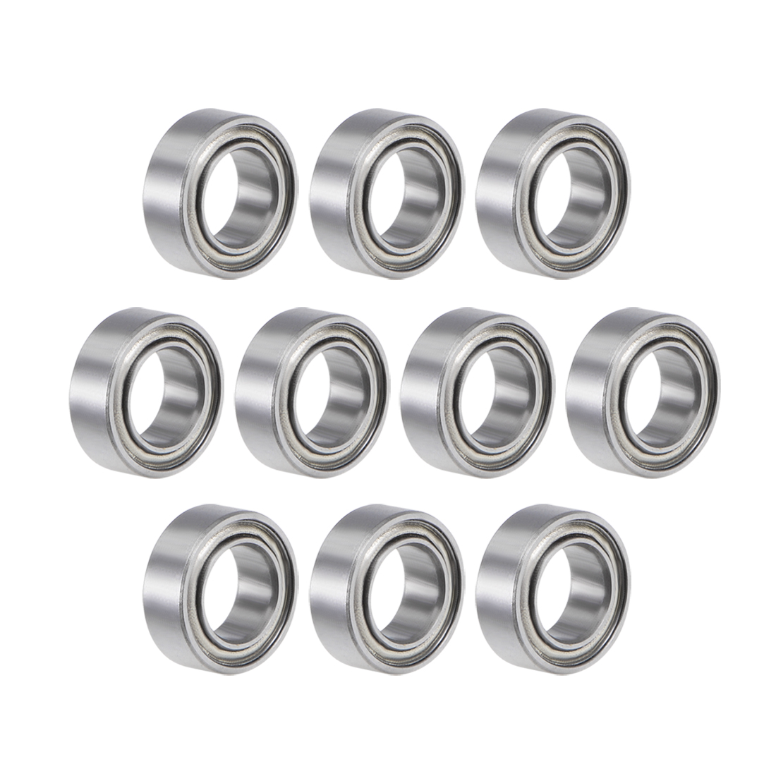 MR74ZZ Ball Bearing 4x7x2.5mm Double Shielded ABEC-3 Bearings 10pcs