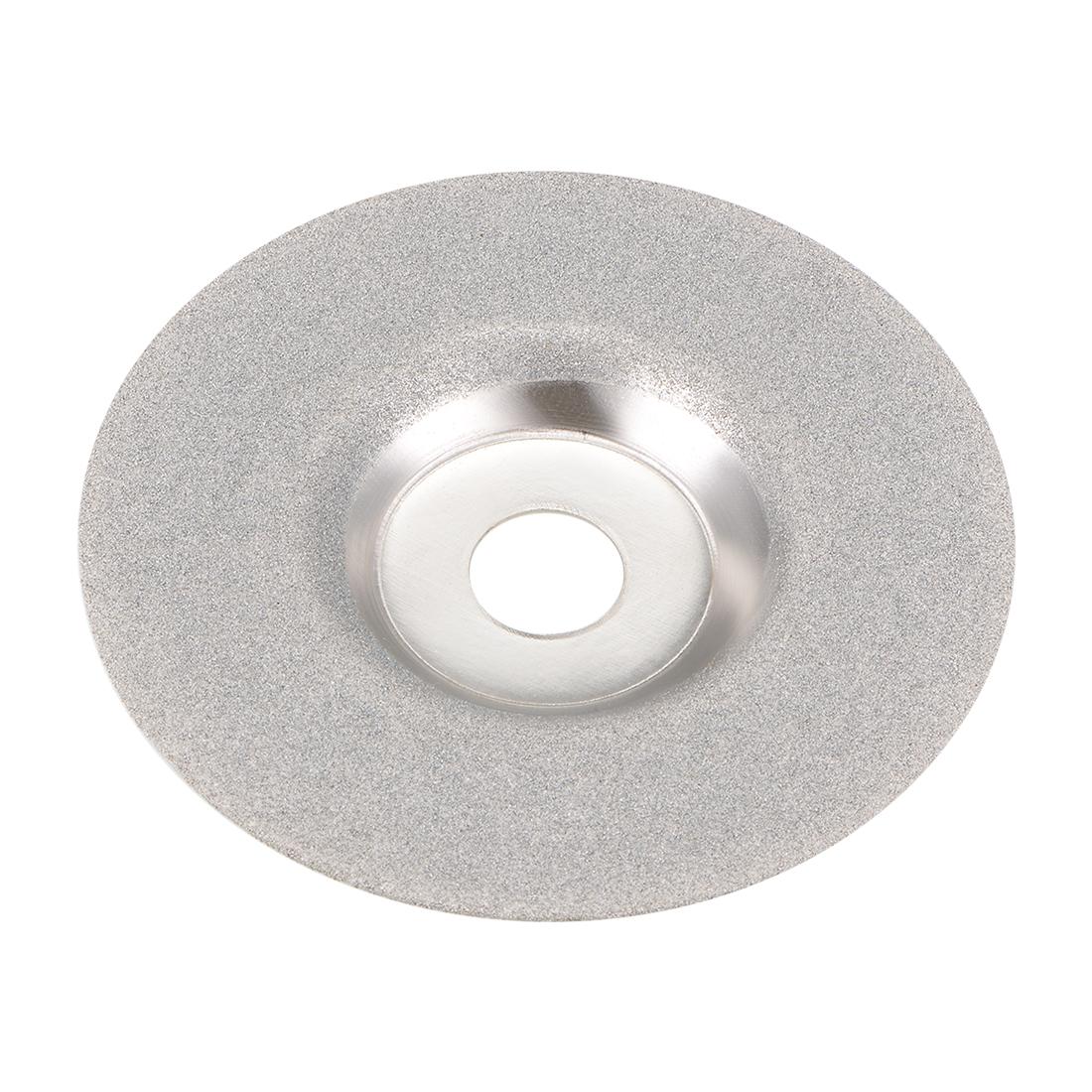 "Diamond Grinding Disc, 4"" Glass Marble Grind Wheel Convex"