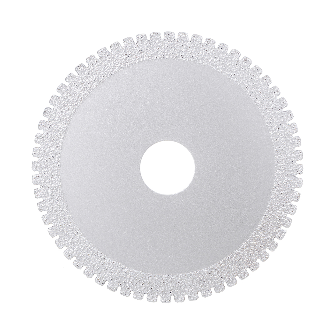 "Diamond Grinding Disc 4"" Glass Marble Grind Wheel Silver Tone"