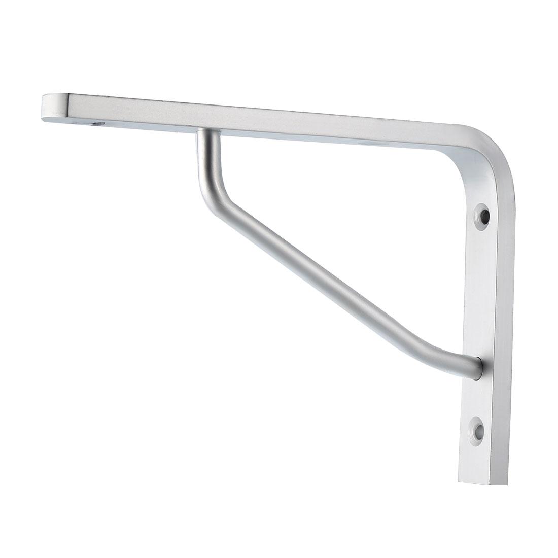 "Shelf Bracket, 7""L x 5""H x 0.4""T Right Angle Bracket Aluminum Alloy 2pcs"