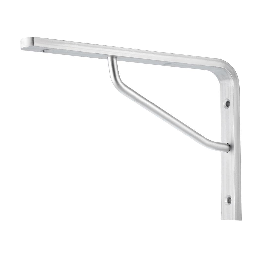 "Shelf Bracket, 8.5""L x 5.7""H x 0.3""T Right Angle Bracket Aluminum Alloy 2pcs"