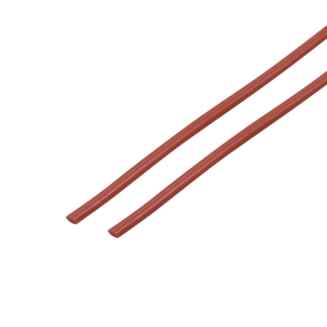 """39"""" Long 1MM Dia High Temperature Resistant Silicone Sealing Strip (Red, 2pcs)"""