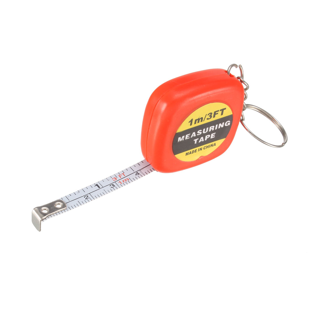3 FT Measuring Tape for Measuring Sewing with Keychain 1 Meter Color Random