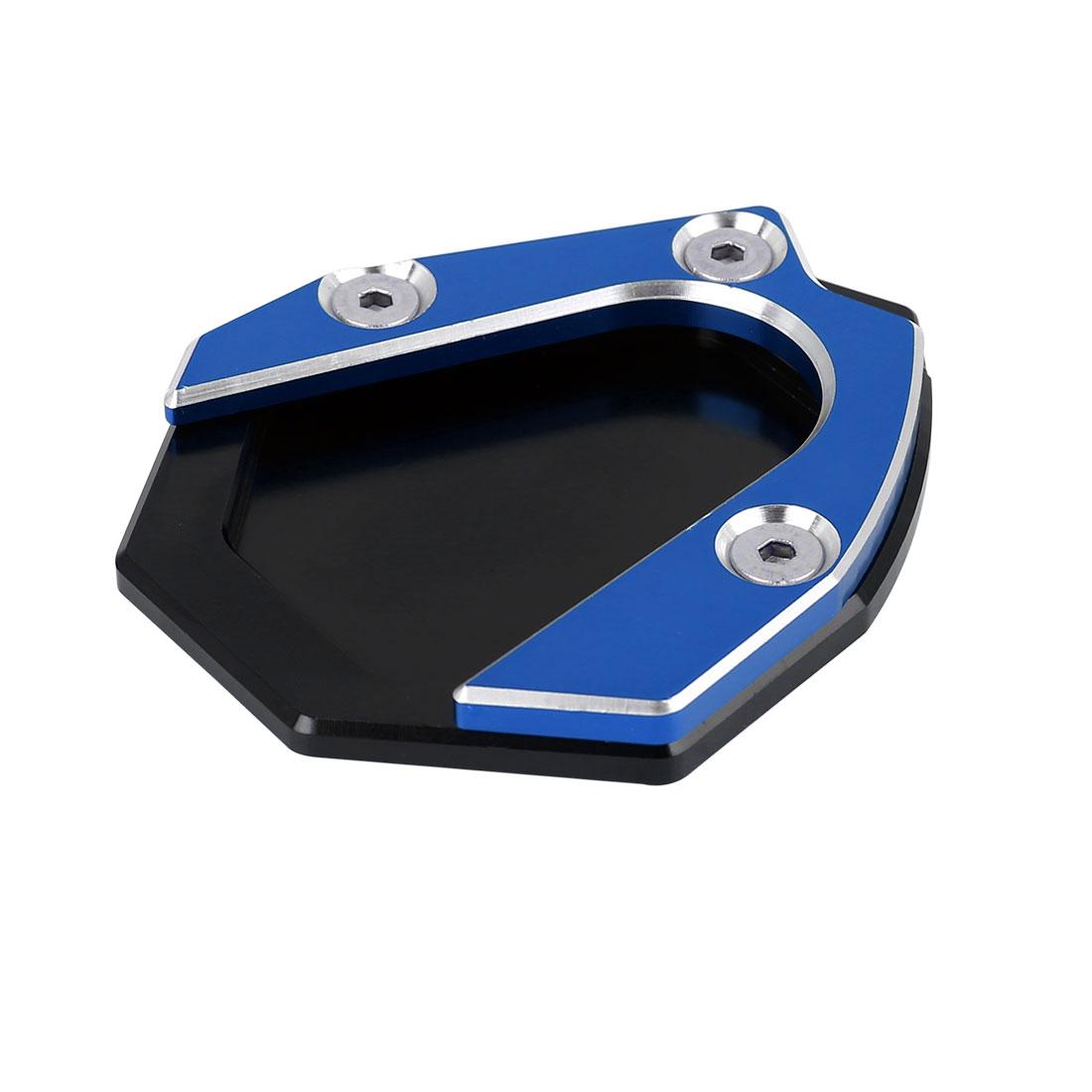 Black Blue Aluminium Alloy Anti-slip Kickstand Enlarger Pad for Benelli 500