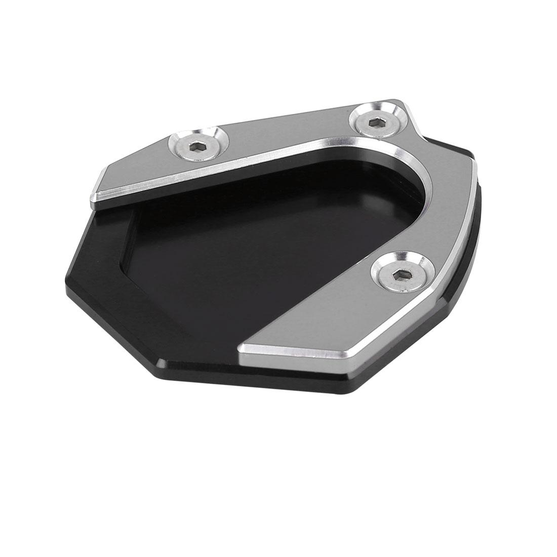 Black Titanium Tone Aluminium Alloy Anti-slip Kickstand Enlarger for Benelli 500