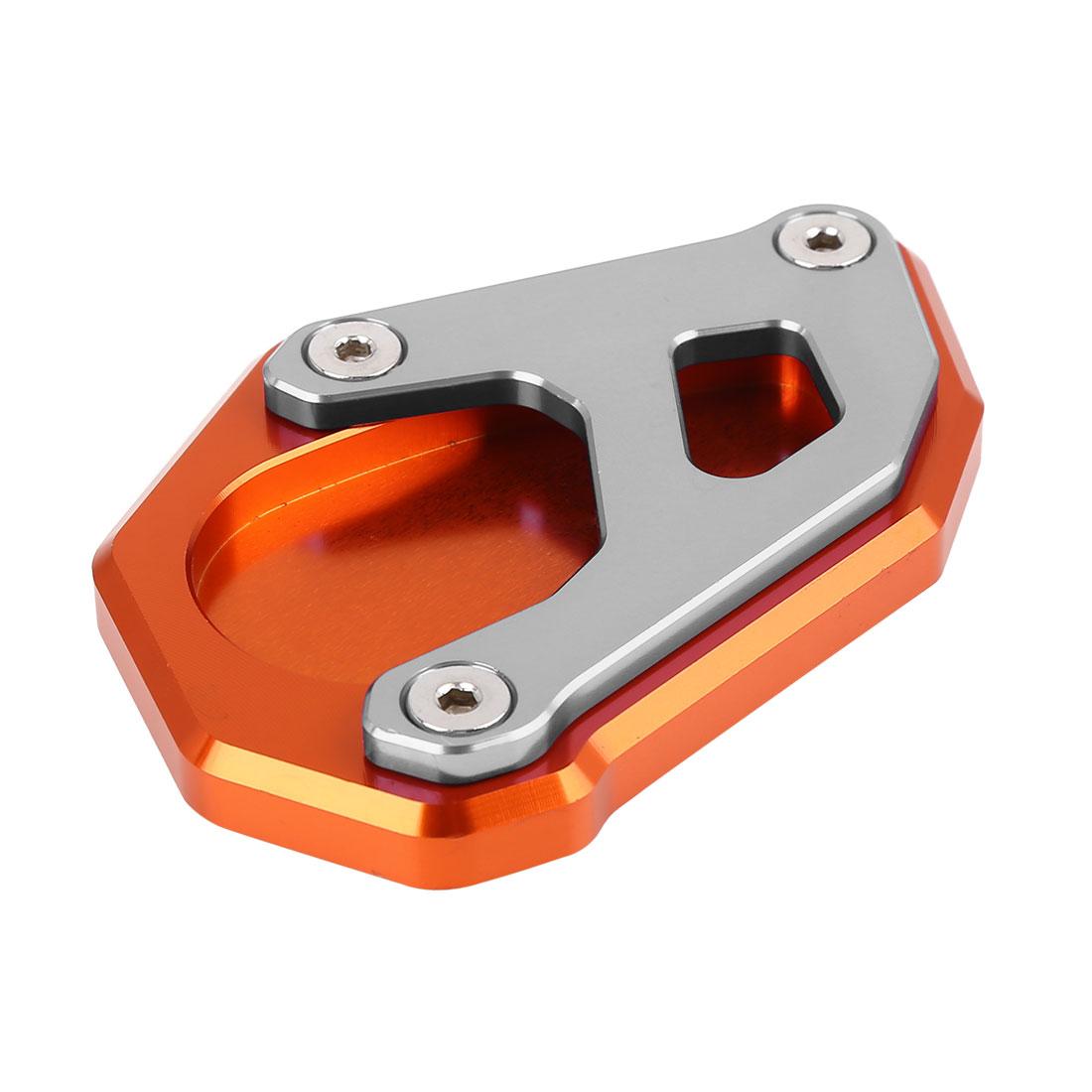 Orange Titanium Tone Anti-slip Kickstand Enlarger for KTM 1050 1090 1190 1290