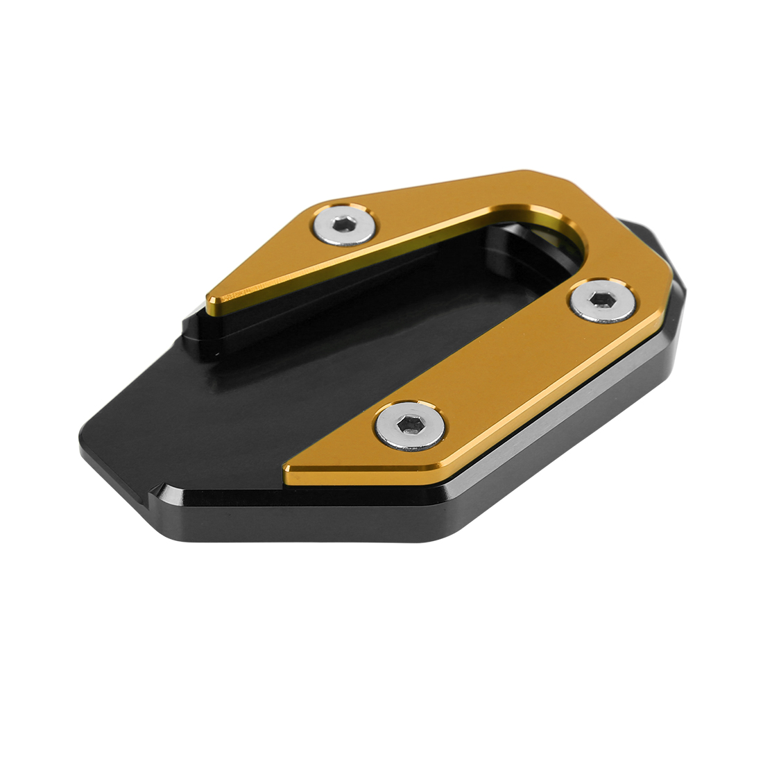Motorcycle Kickstand Pad Side Stand Extension Plate Support Parking for R3-MT03