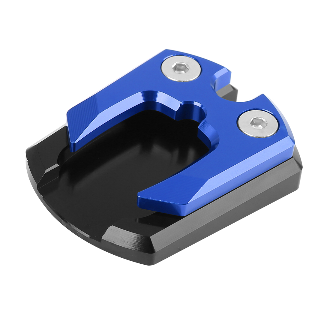 Black Blue Motorcycle Kickstand Pad Extension Side Stand Plate for MSLAZ XAX 300
