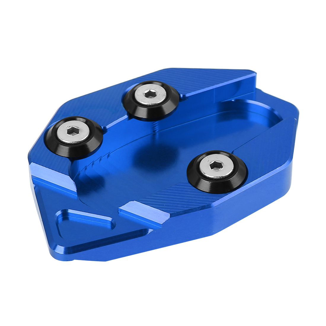 Blue Motorcycle Kickstand Pad Extension Side Stand Plate for YAMAX 530 12-16