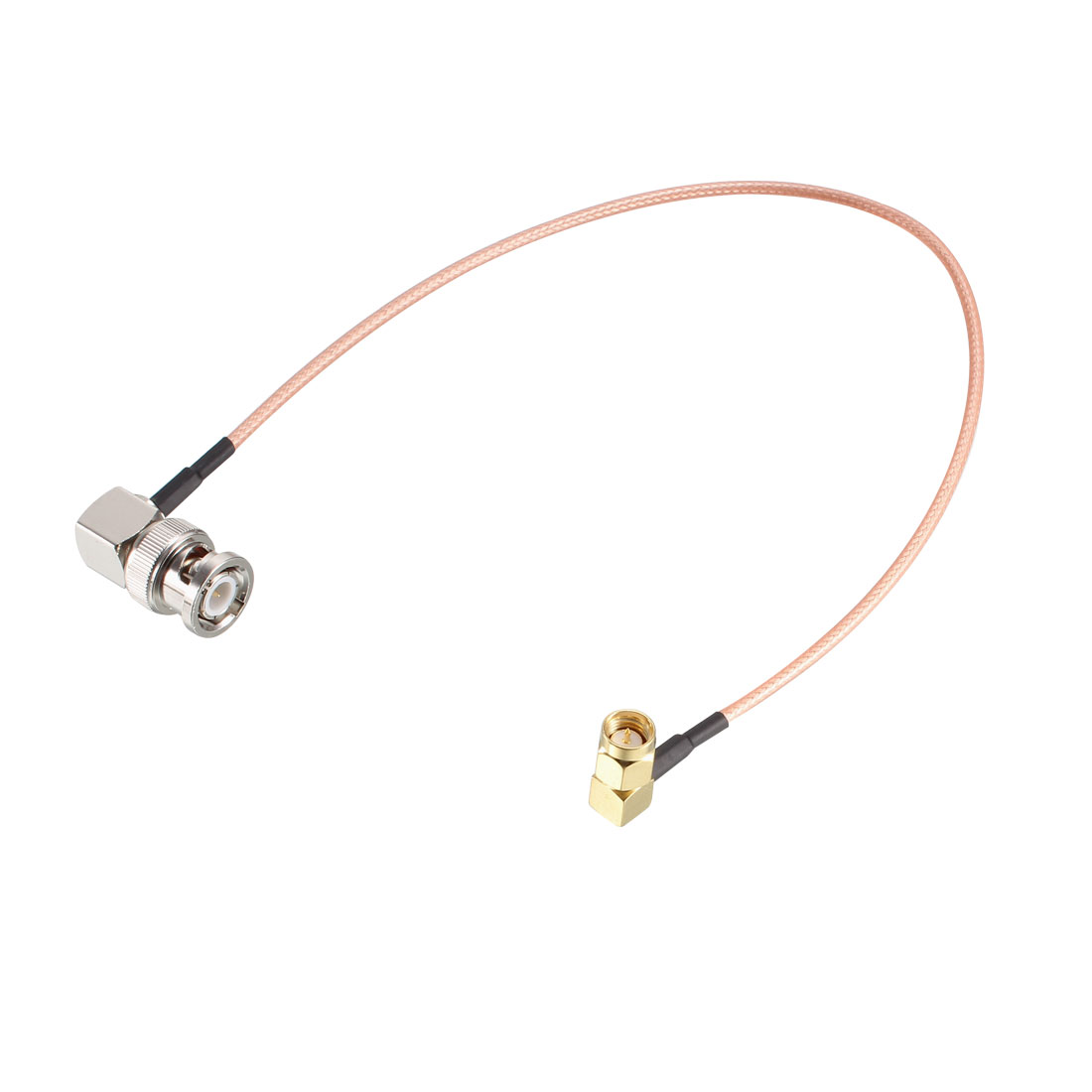 BNC Male Right Angle to SMA Male Right Angle RG316 Coax Cable 50 Ohm 6 ft
