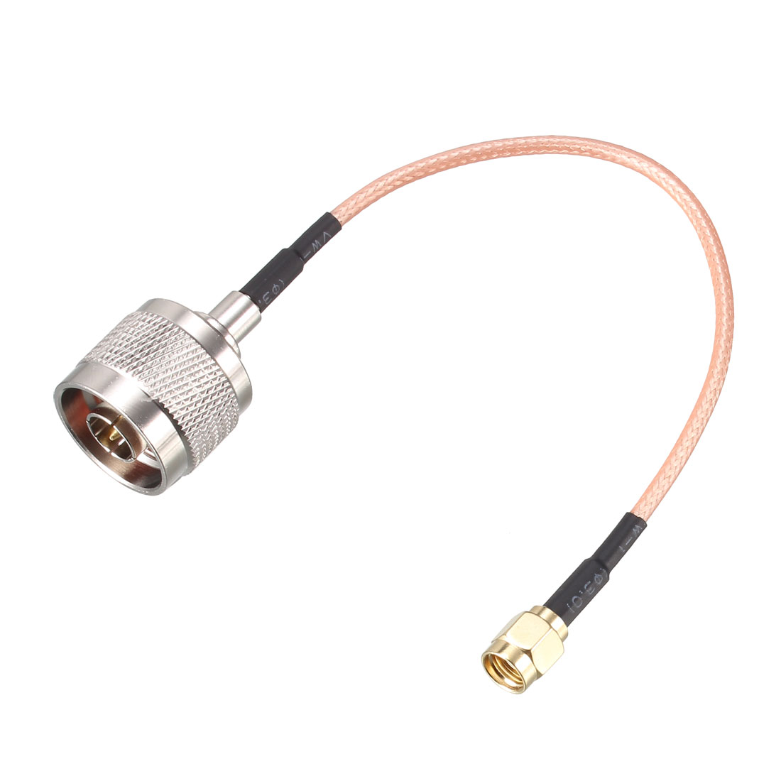Coax Extension Cable 50 Ohm 0.5 ft SMA Male to N Male RG316 Jumper Cable