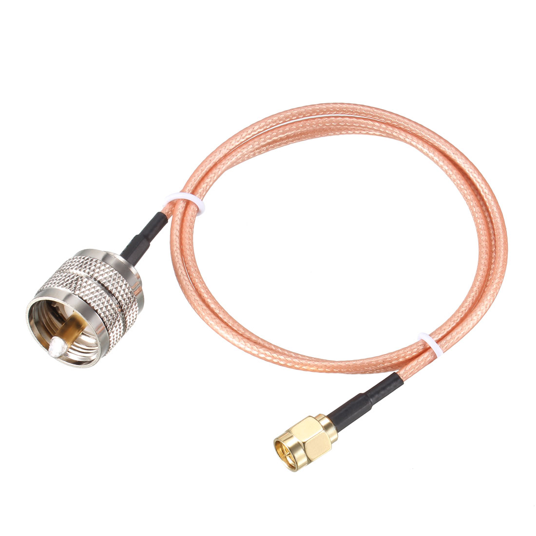 SMA Male to UHF PL-259 Male RG316 RF Coaxial Coax Cable 2 ft