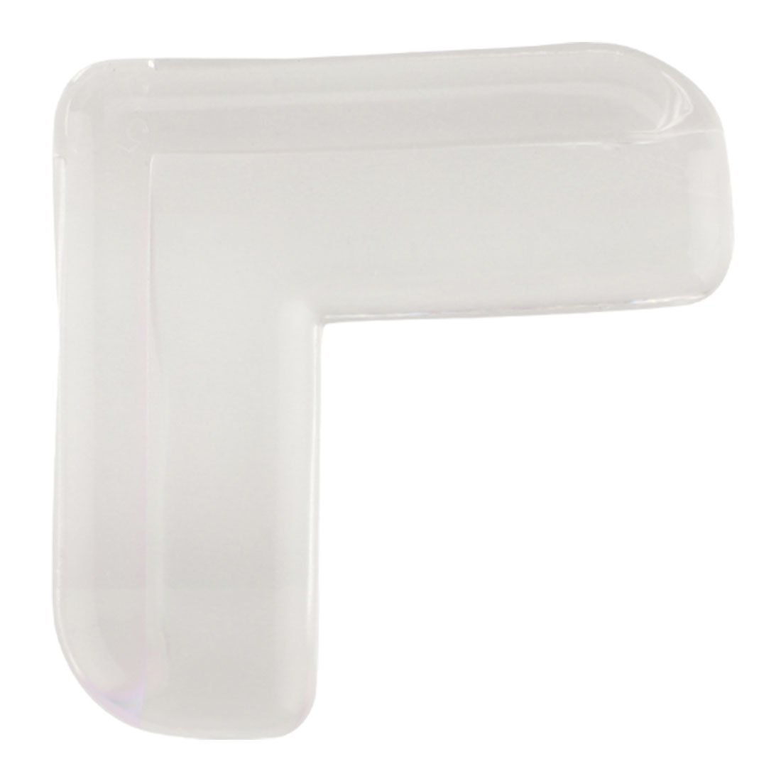 Desk Table Edge PVC Corner Cushion Guard Strip Roll Bumper Protector, Clear