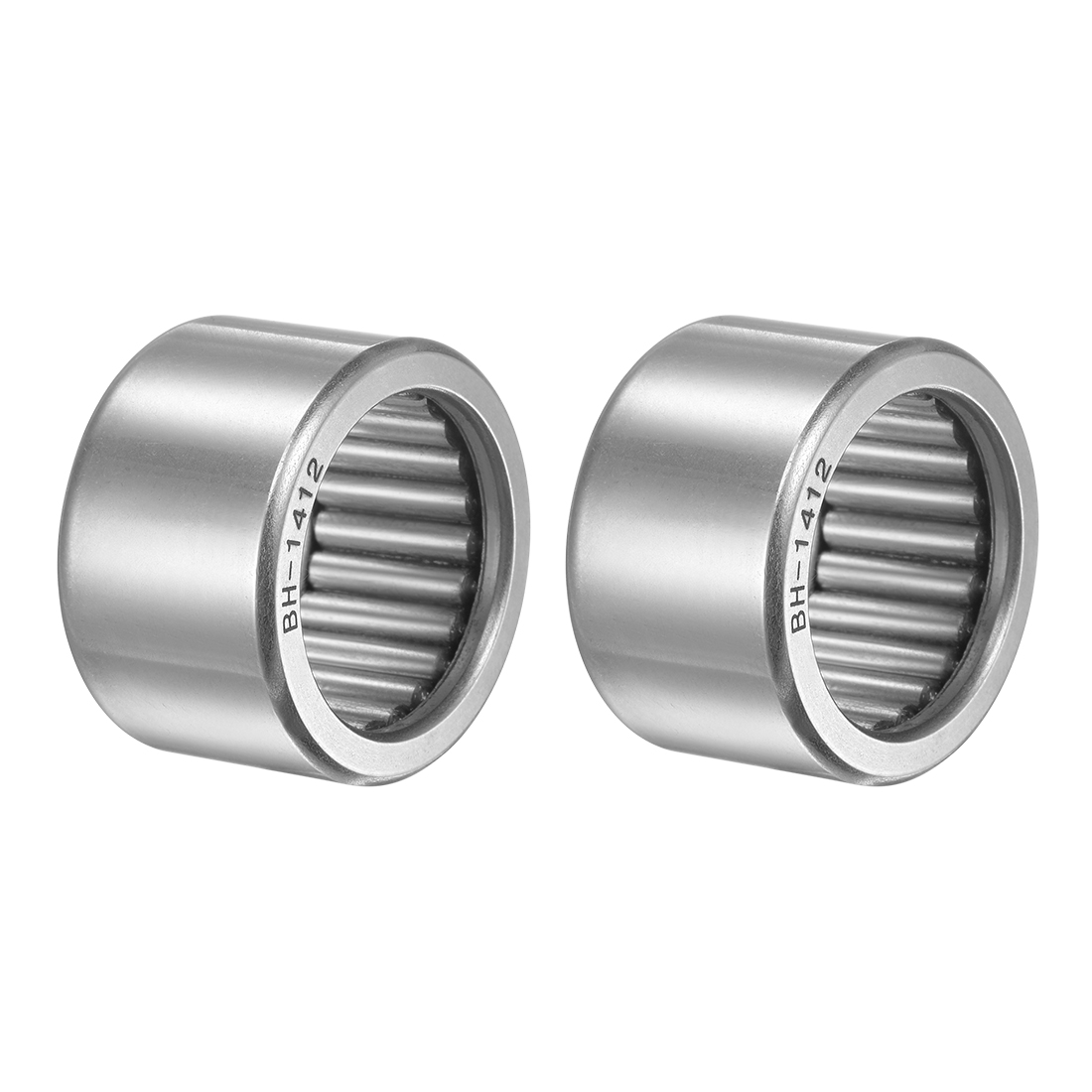 """BH1412 Needle Roller Bearings 7/8""""x1-3/16""""x3/4"""" Full Complement Drawn Cup 2pcs"""