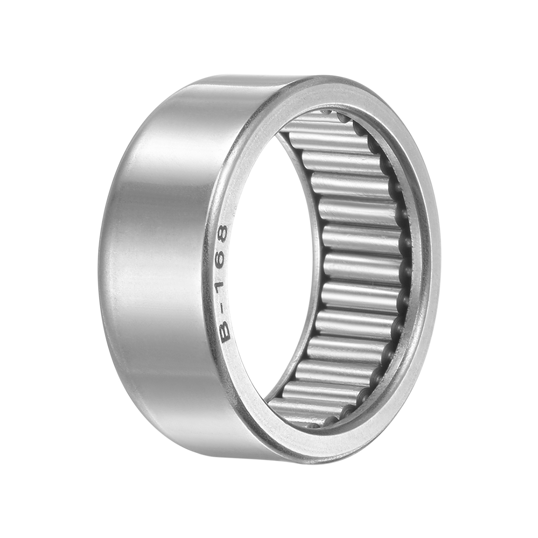 """B168 Needle Roller Bearings 1"""" x 1-1/4"""" x 1/2"""" Full Complement Drawn Cup"""