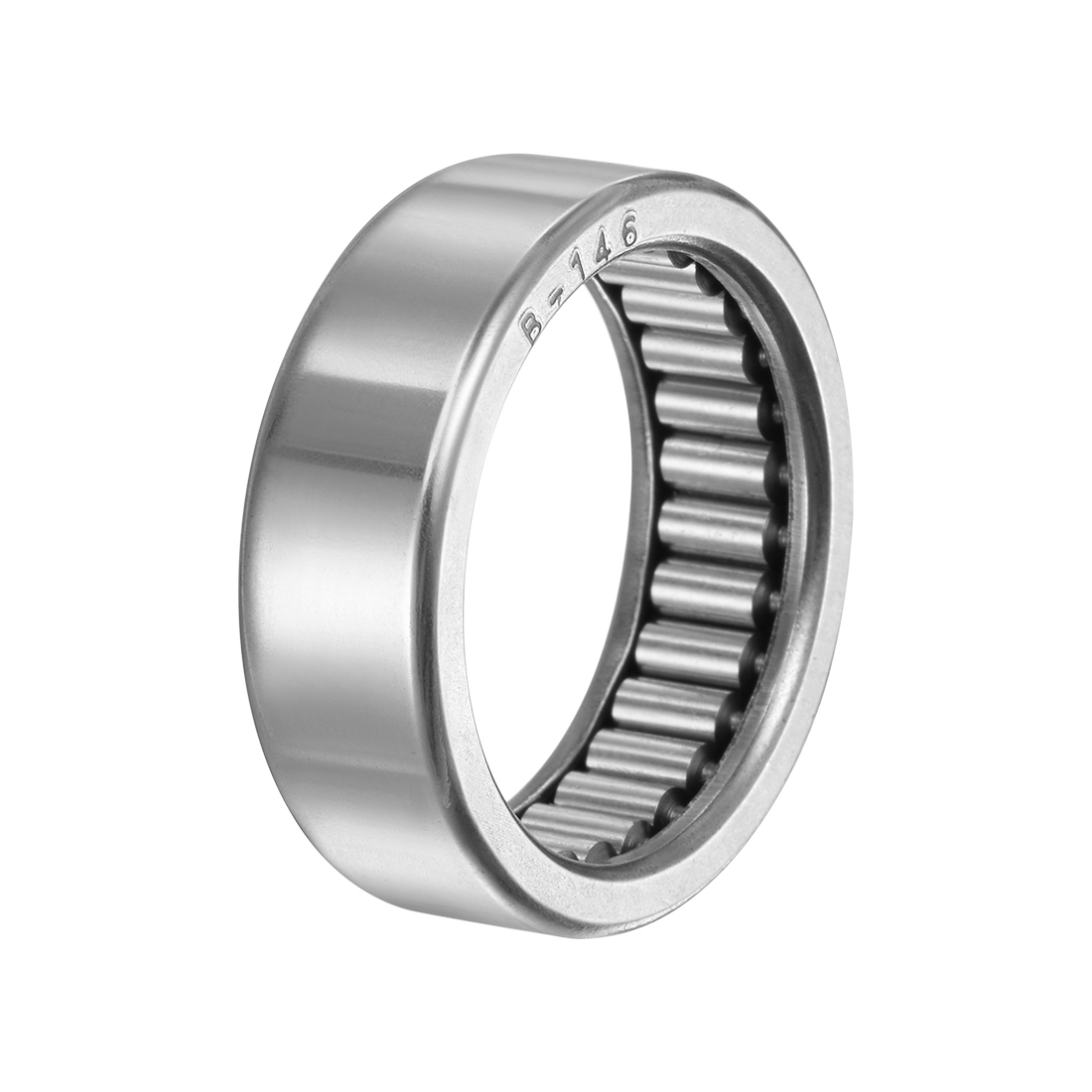 """B146 Needle Roller Bearings 7/8"""" x 1-1/8"""" x 3/8"""" Full Complement Drawn Cup"""