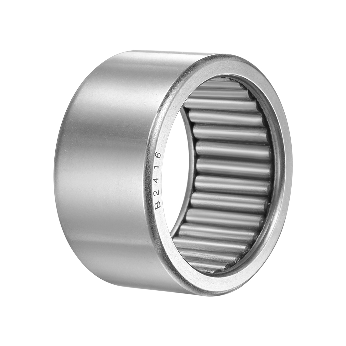 """B2416 Needle Roller Bearings 1-1/2"""" x 1-7/8"""" x 1"""" Full Complement Drawn Cup"""