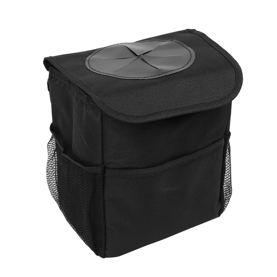 22x14x23cm Car Waterproof Trash Storage Bag Holder Backseat Hanging Design