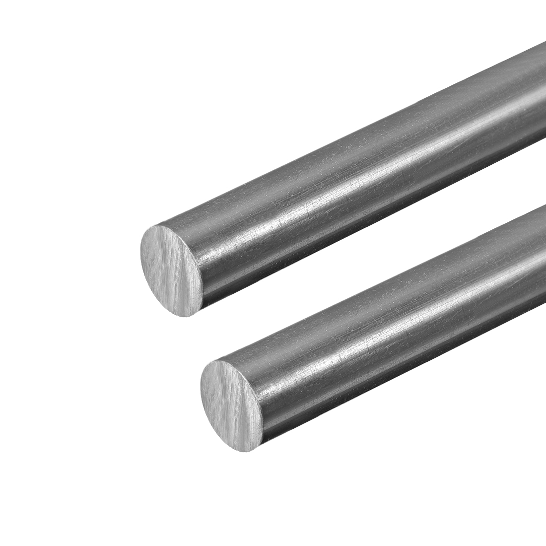 "PVC Round Rods ,16mm Dia, 20"" Length, Grey Engineering Plastic Round Rod 2pcs"