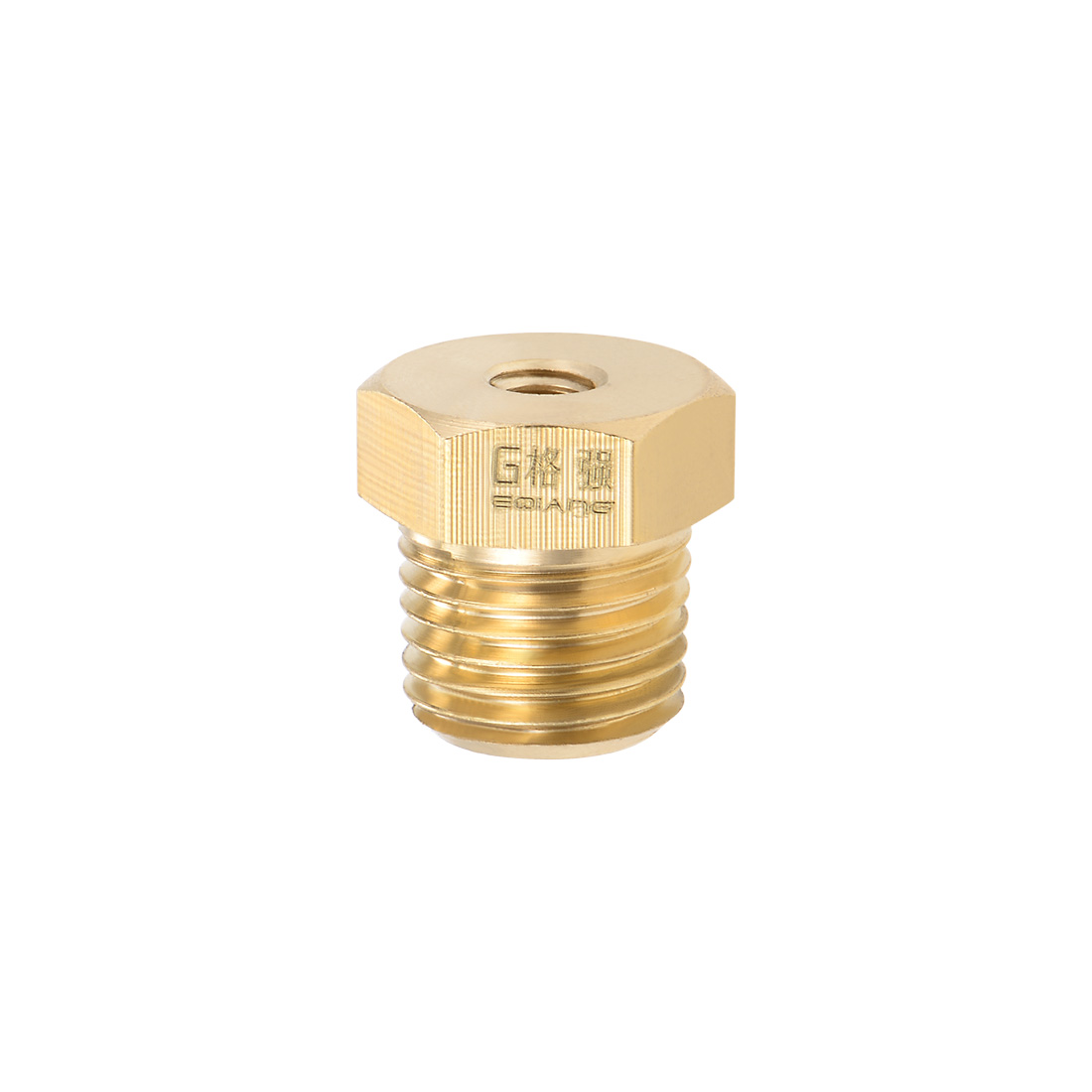 Brass Pipe Hose Fitting 1/4 Male to 3/16 Female Thread Tube Adapter Nozzle