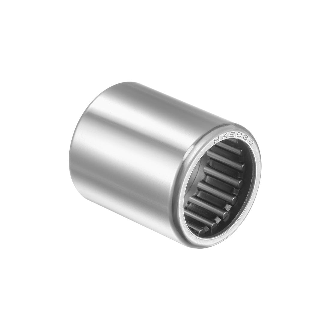 HK2030 Drawn Cup Needle Roller Bearings 20mm Bore, 26mm OD, 30mm Width
