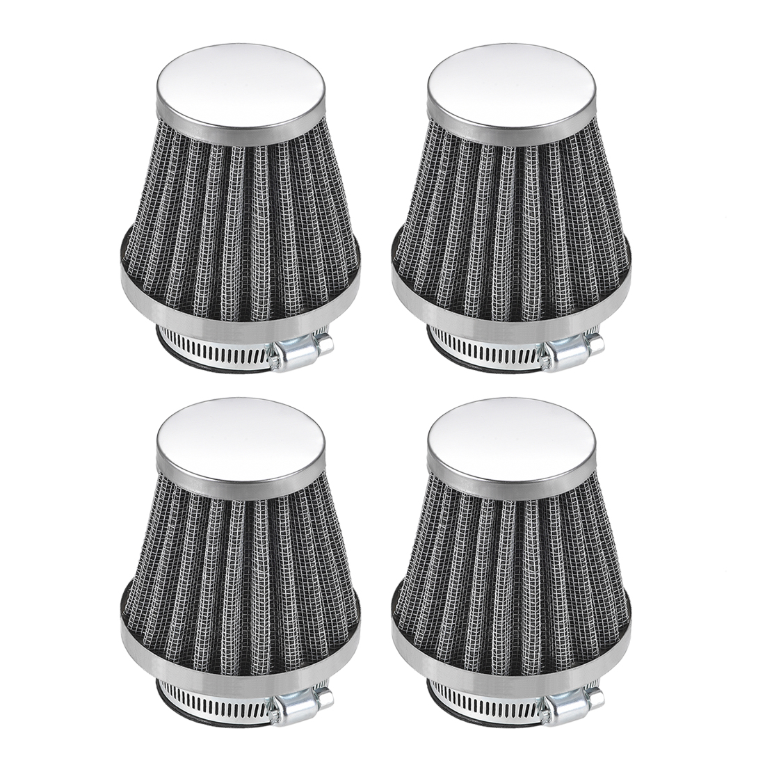 4 Pcs 39mm Air Filter for 50cc 110cc 150cc 200cc gy6 Moped Scooter Atv Dirt Bike