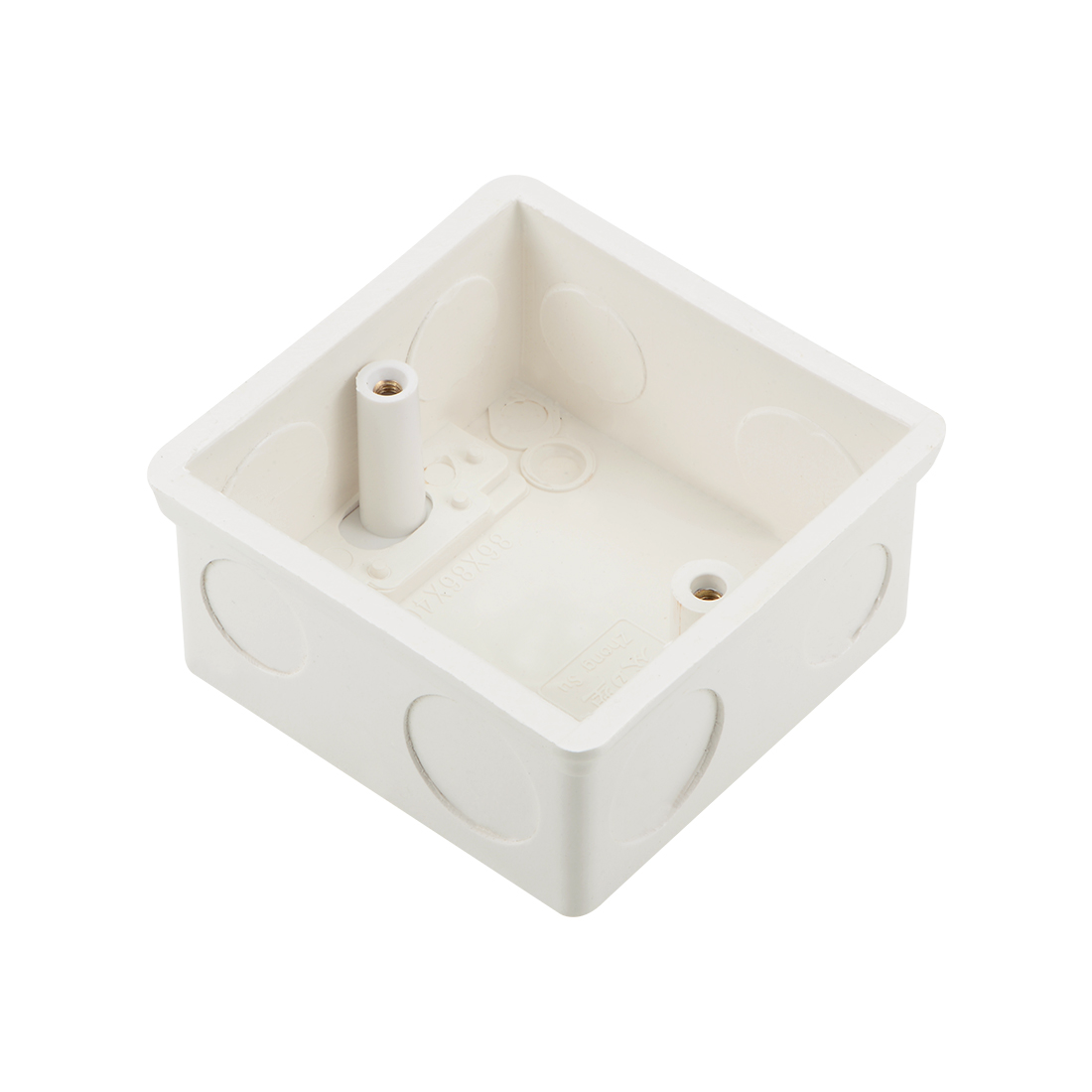 Wall Switch Box Deep Case Recessed Mount 86 Type Single Gang White 1pcs