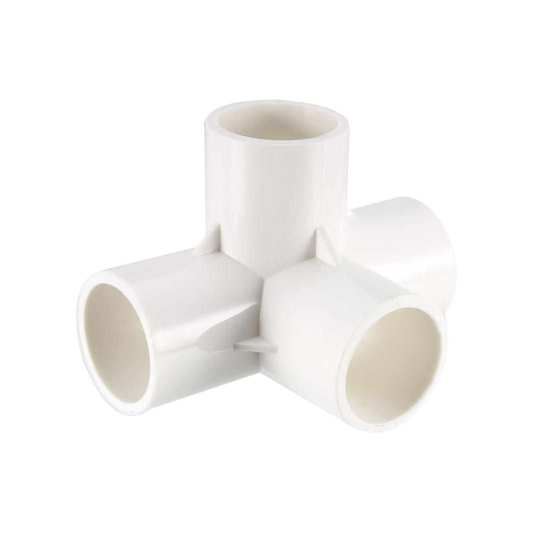 4 Way 25mm Tee PVC Fitting Elbow - PVC Furniture - PVC Elbow Fittings