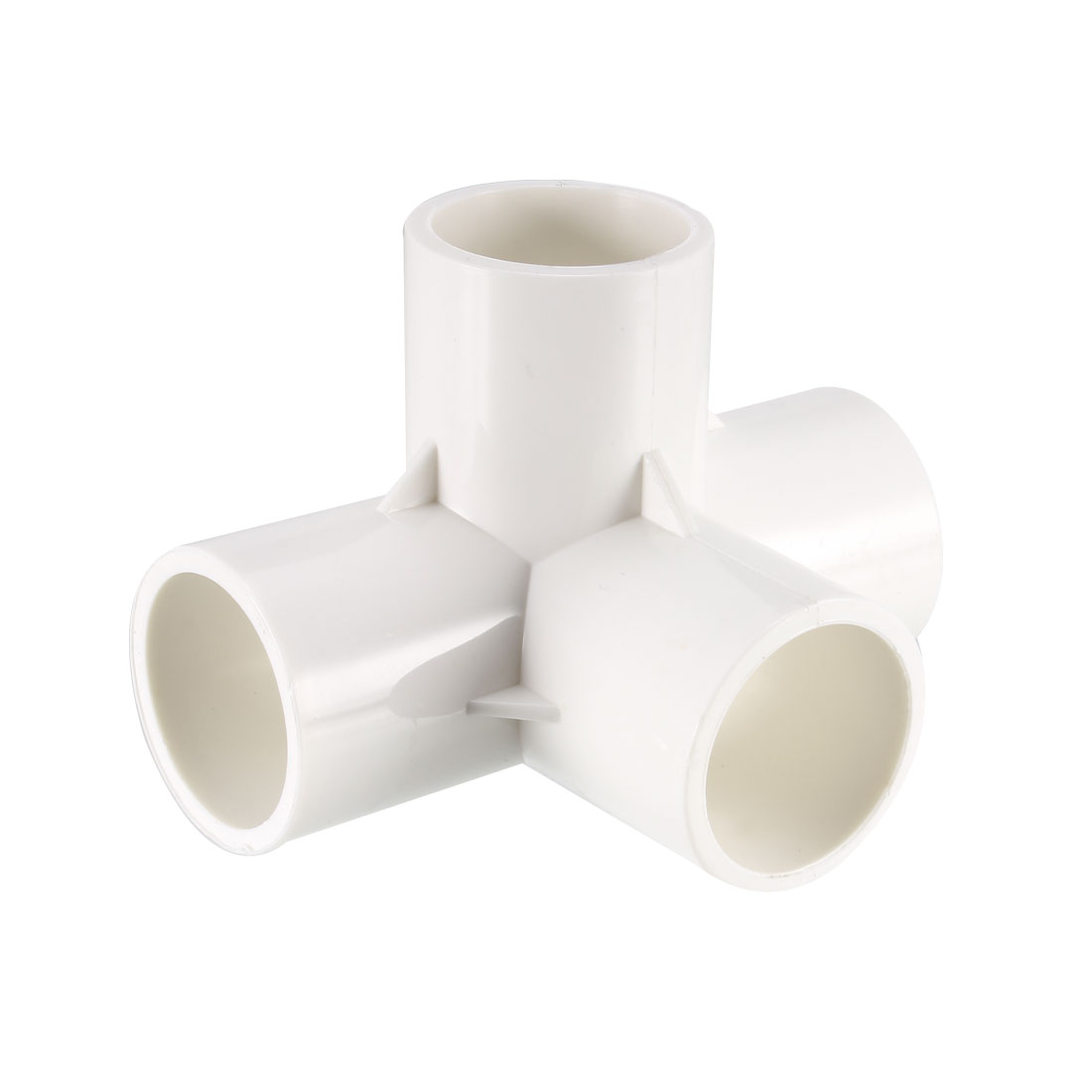 4 Way 25mm Tee PVC Fitting Elbow - PVC Furniture - PVC Elbow Fittings 2Pcs