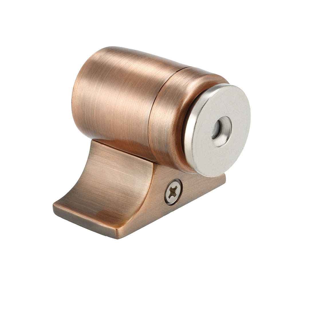 Magnetic Door Stopper Catch, Stainless Steel Door Stop Floor Mount Copper Tone