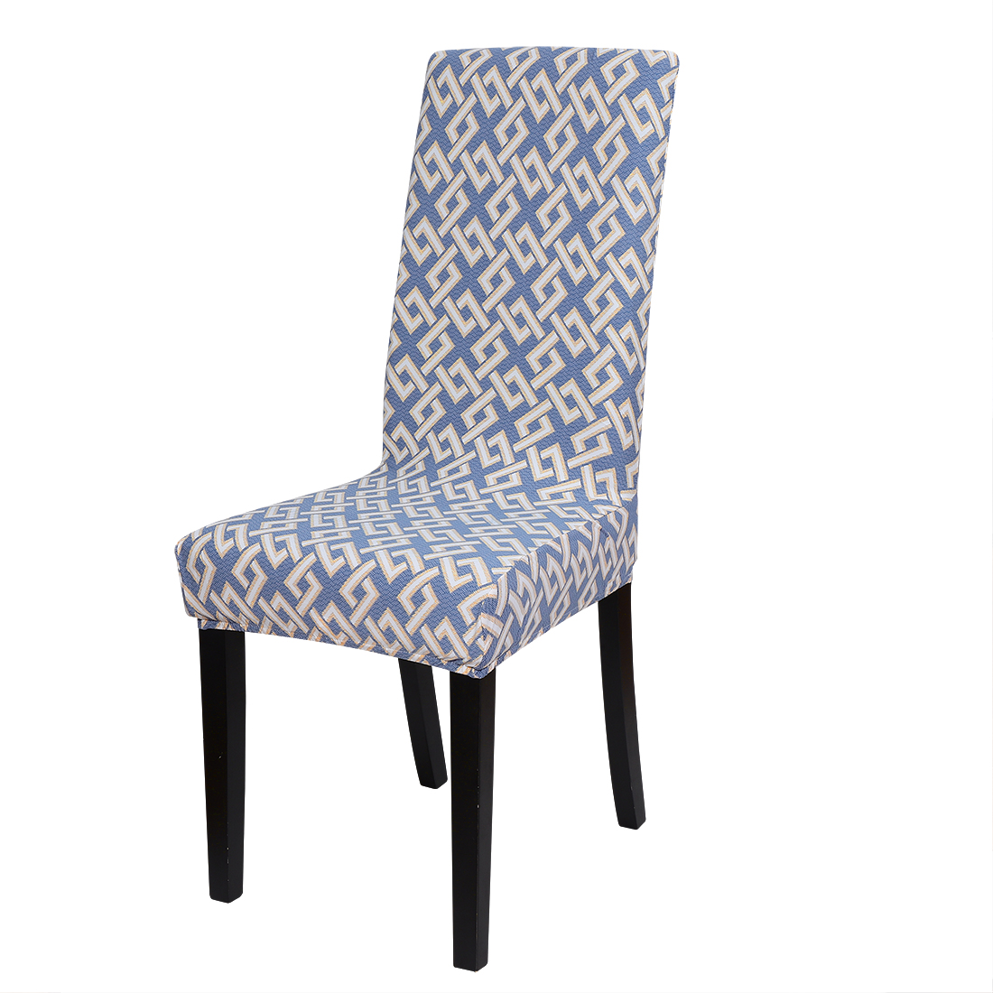 Floral Print Spandex Chair Covers Fit Home Dining Room Seat Slipcover, Style 13