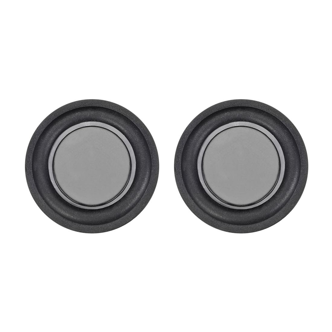 "2Pcs 1.5"" 40mm Bass Speaker Passive Radiator Rubber Vibration Plate DIY Repair"