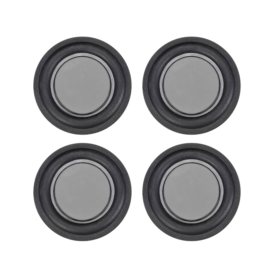 "4Pcs 1.5"" 40mm Bass Speaker Passive Radiator Rubber Vibration Plate DIY Repair"