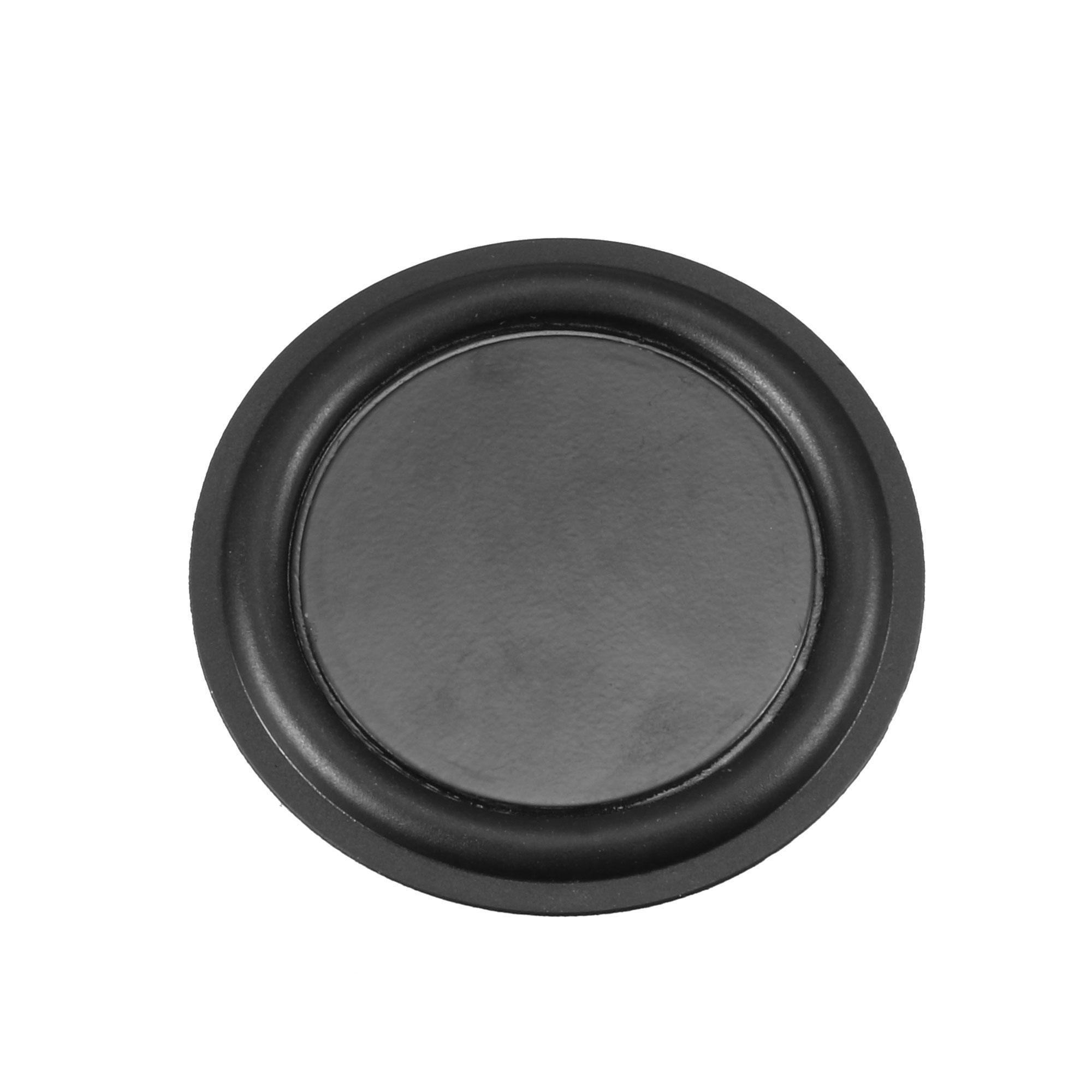 "2Pcs 3"" 75mm Bass Speaker Passive Radiator Rubber Vibration Plate DIY Repair"