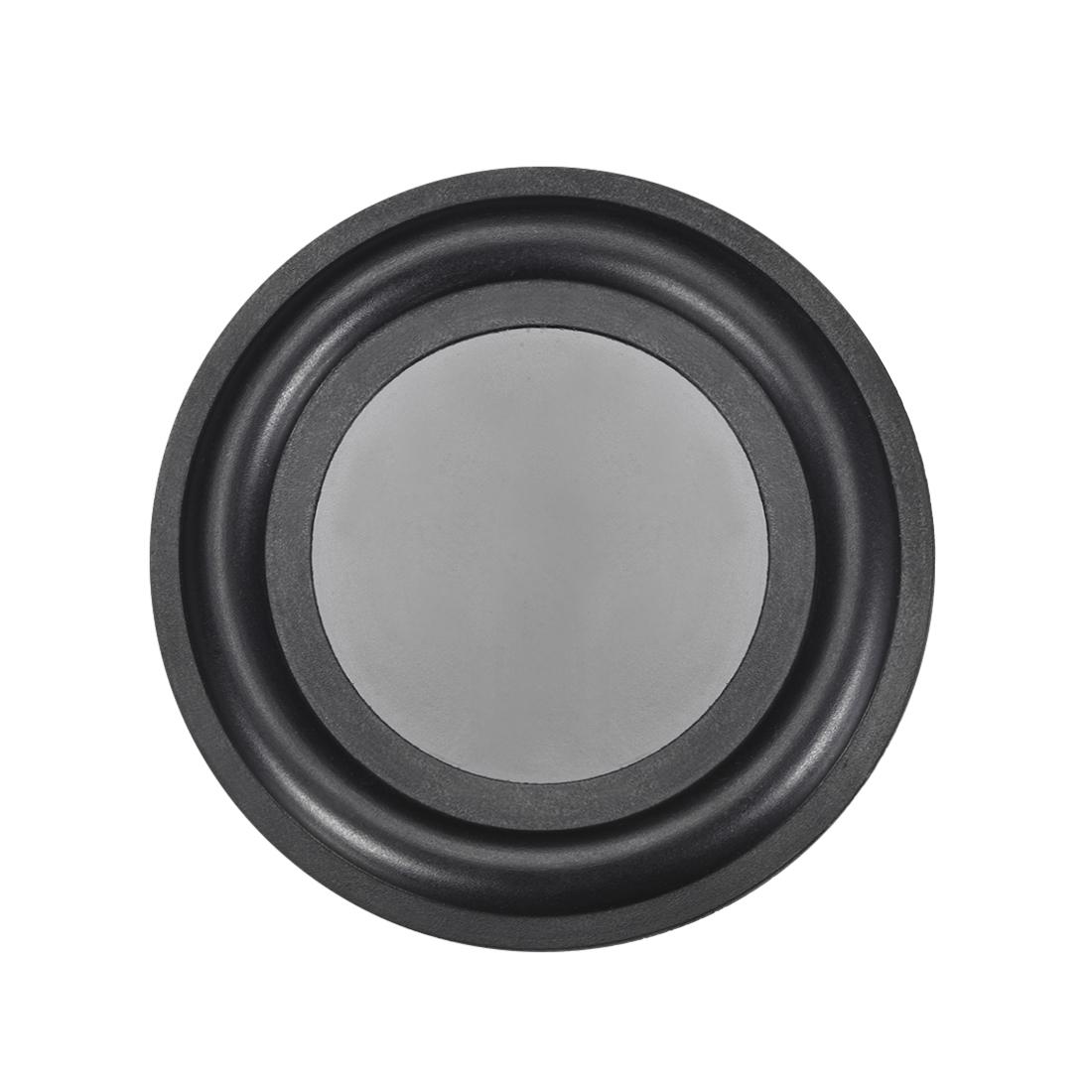"3.5"" 92mm Bass Speaker Passive Radiator Rubber Vibration Plate DIY Repair"