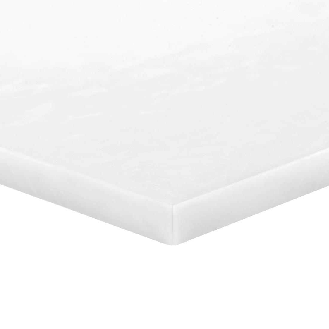 Acetal POM Sheet Polyoxymethylene Plate Sheet 200 x 200 x 6mm White