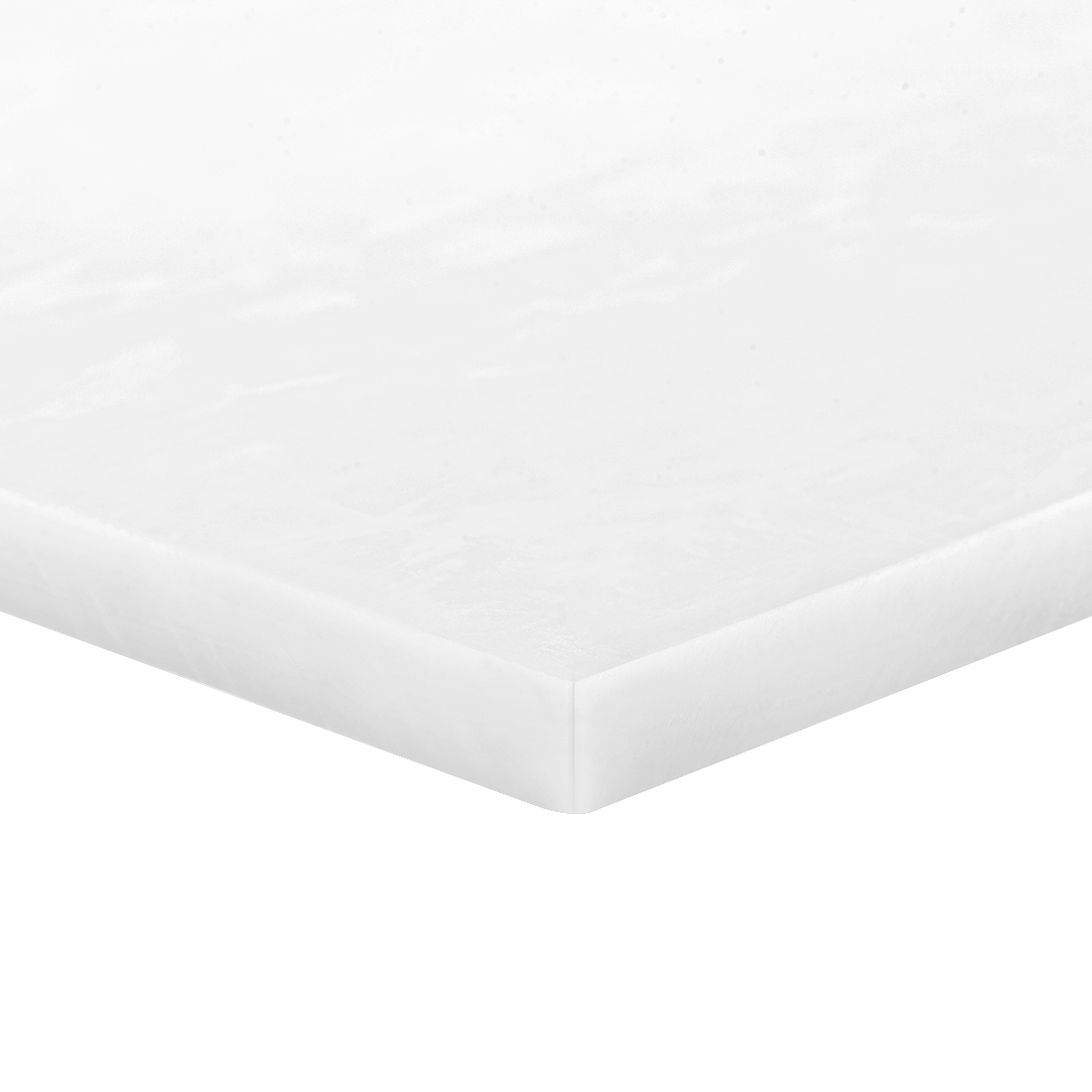 Acetal POM Sheet Polyoxymethylene Plate Sheet 200 x 250 x 6mm White