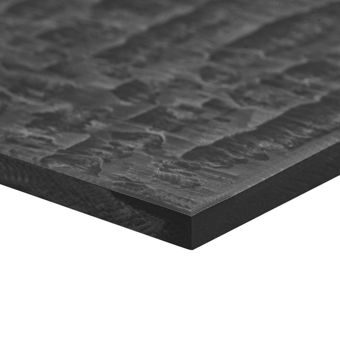 Acetal POM Sheet Polyoxymethylene Plate Sheet 200 x 200 x 5mm Black