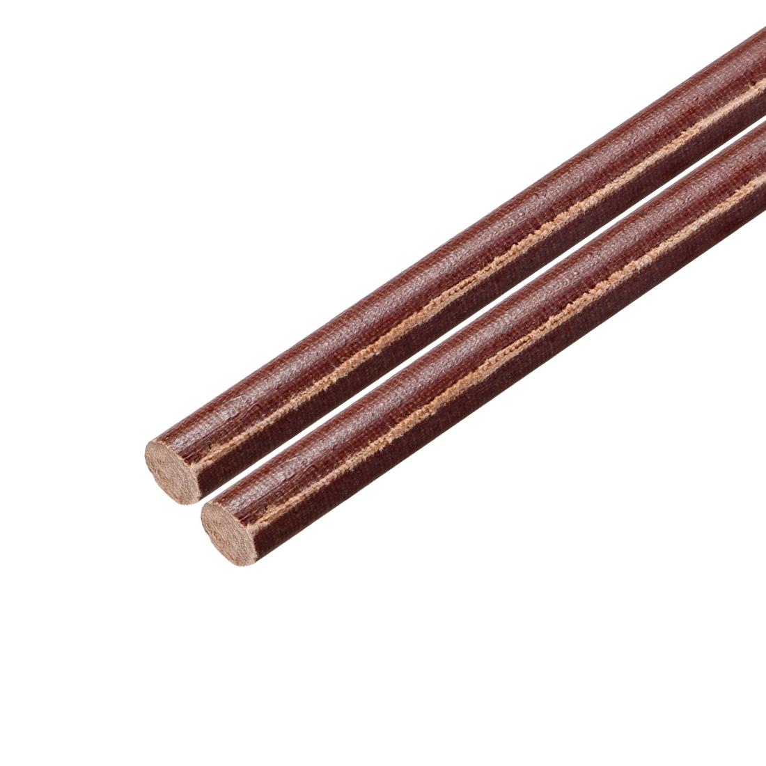 "Phenolic Round Rod, Opaque Natural 8mm Dia 20"" Length 2pcs"