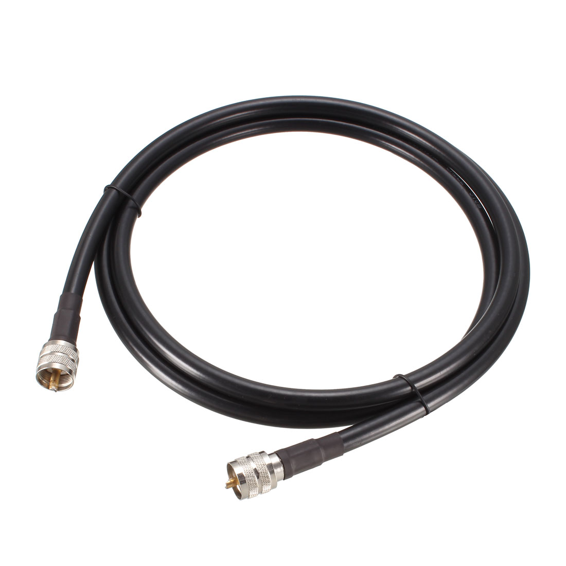 RG213 Coaxial Cable With Pl-259 Male to Pl-259 Male Connectors 6 ft