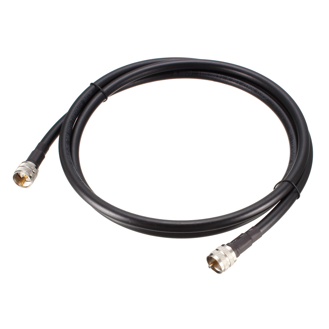 RG8U Coaxial Cable With Pl-259 Male Connectors for CB/Ham Radio 6 ft