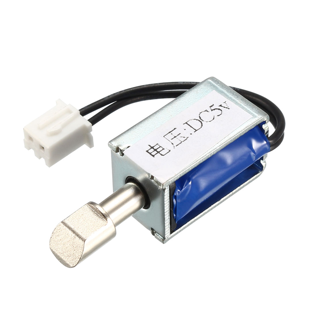 DC5V 0.4A Pull Type Mini Solenoid Electromagnet, Open Frame, Actuator Linear