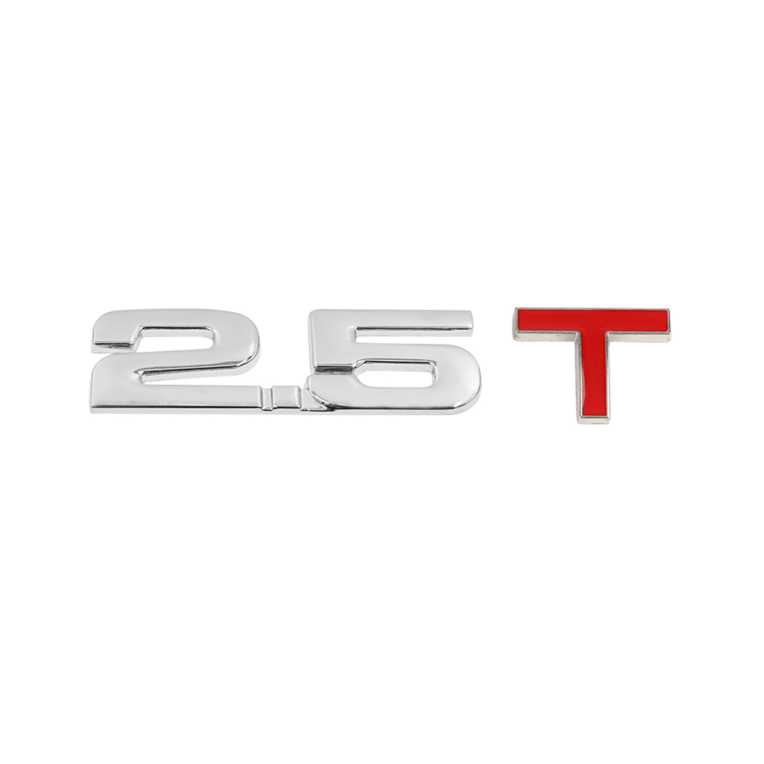 Universal 3D Metal 2.5T Shaped Car Decorative Emblem Badge Decal Sticker