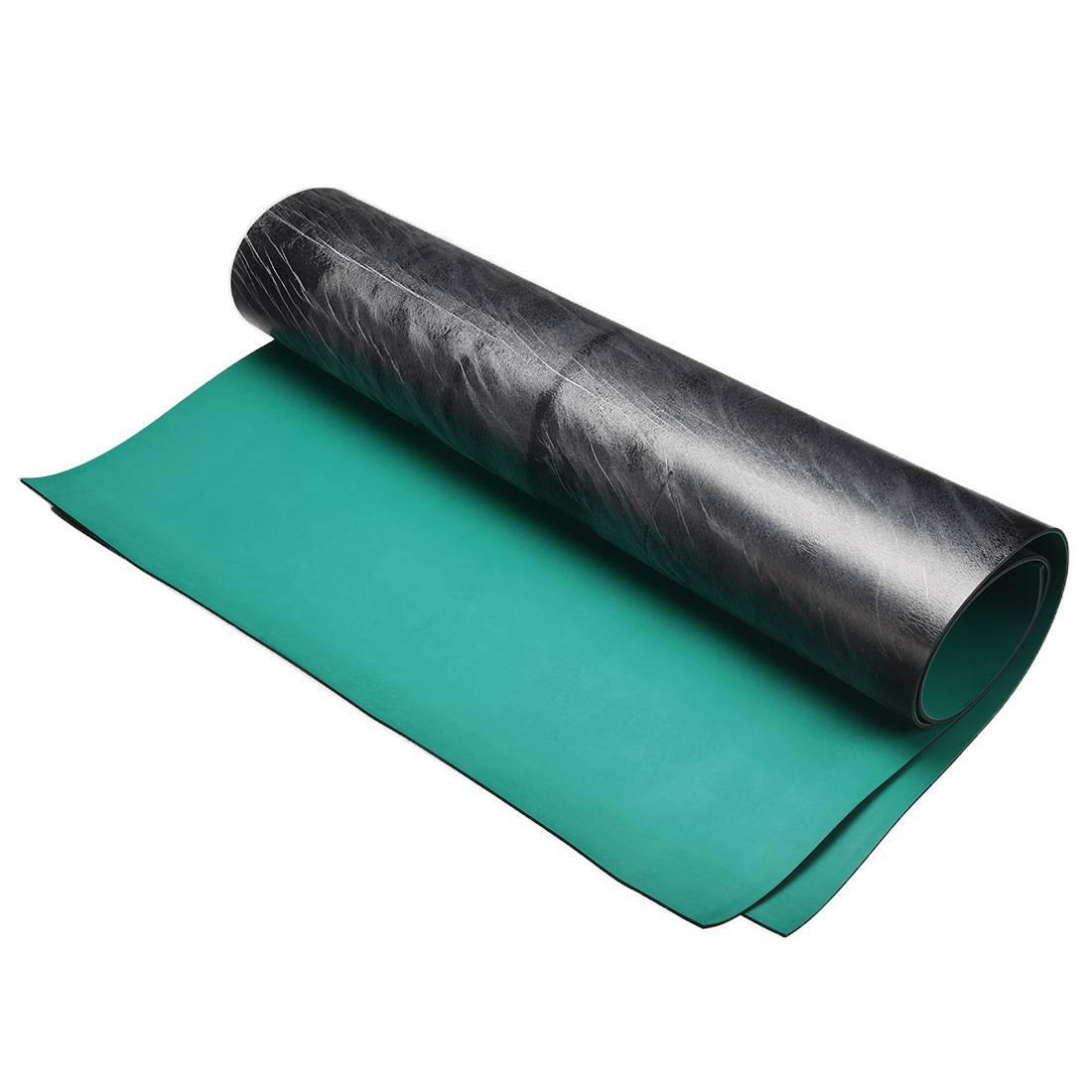 Anti Static ESD Mat High Temperature Rubber Table Mat 610x510mm Green Black 2pcs