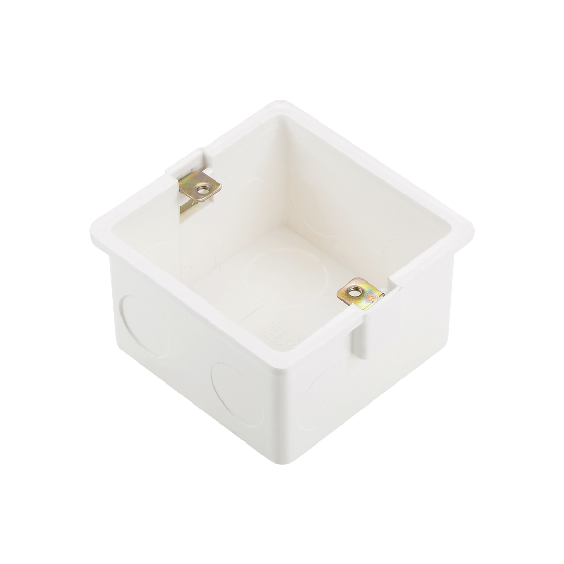 Wall Switch Box Deep Case Recessed Mount 86 Type Single Gang White 82*80*47 1pcs