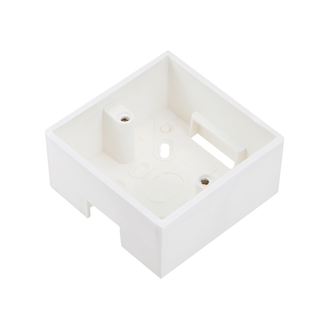 Wall Switch Box Deep Case Recessed Mount 86 Type Single Gang White 87*87*42 1pcs
