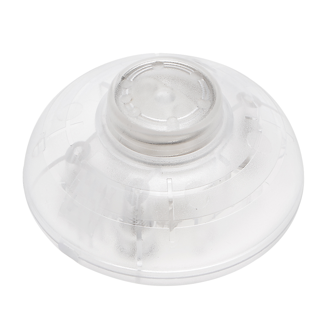 Inline Foot Pedal Push Button Switch,Round Lamp Light Control ON/Off Transparent