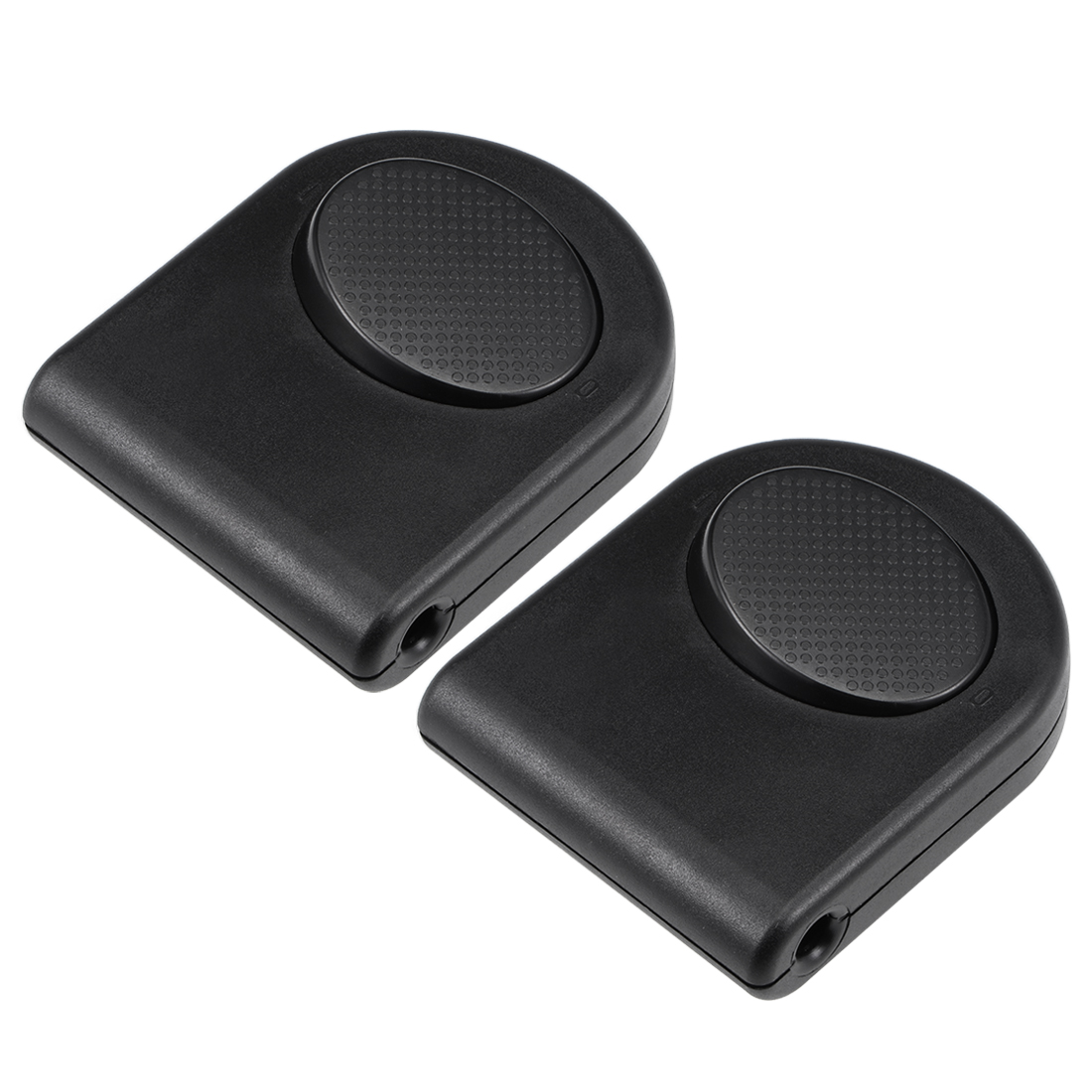 Inline Foot Pedal Push Lamp Switch,Step Button Light Control ON/Off Black 2 Pcs
