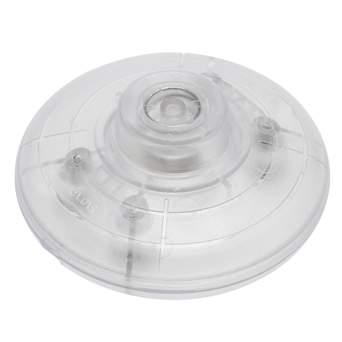 Inline Foot Pedal Push Button Switch,Lamp Light Control ON/Off Footswitch Clear